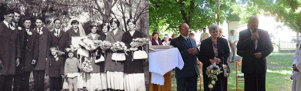 Szigeti atya a Daka házaspárt adta össze először 1959-ben Zákányszéken. 47 év elteltével újra találkoztak.